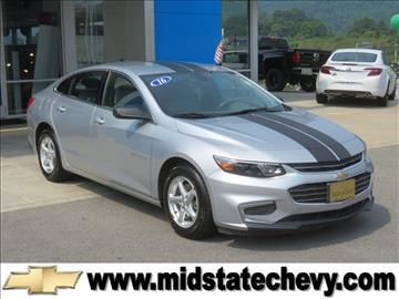 2016 Chevrolet Malibu for sale in Sutton, WV