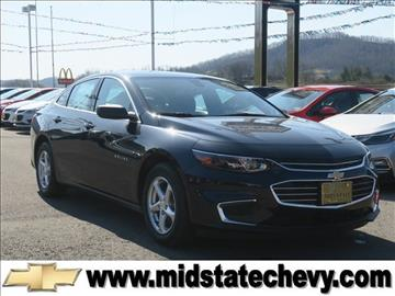 2017 Chevrolet Malibu for sale in Sutton, WV