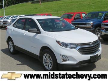 2018 Chevrolet Equinox for sale in Sutton, WV