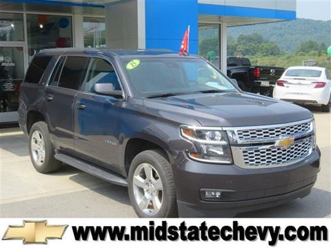 2015 Chevrolet Tahoe for sale in Sutton, WV