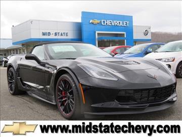 2017 Chevrolet Corvette for sale in Sutton, WV