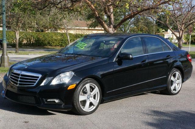 2011 MERCEDES-BENZ E-CLASS E350 black 99 point safety inspection automatic clean carfa