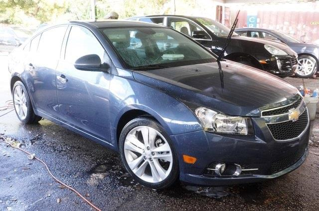 2013 CHEVROLET CRUZE LTZ AUTO 4DR SEDAN W1SJ blue turbocharged car buying made easy michaels