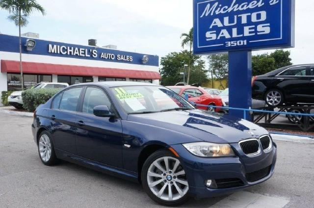 2011 BMW 3 SERIES 328I 4DR SEDAN SA deep sea blue metallic 99 point safety inspection clea