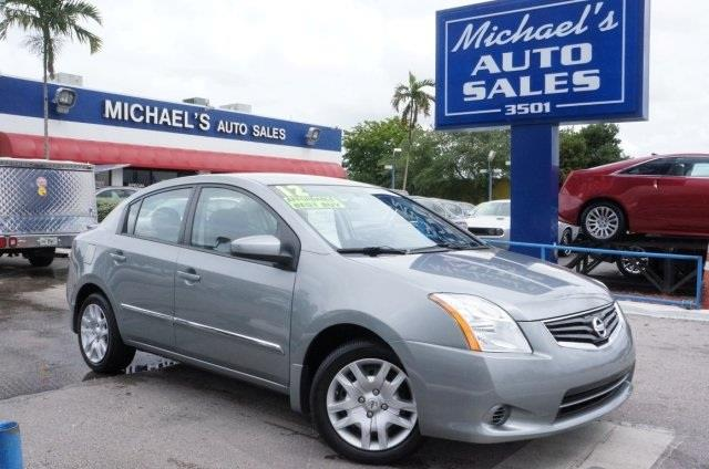 2012 NISSAN SENTRA 20 SL 4DR SEDAN magnetic gray youll never pay too much at michaels auto sale