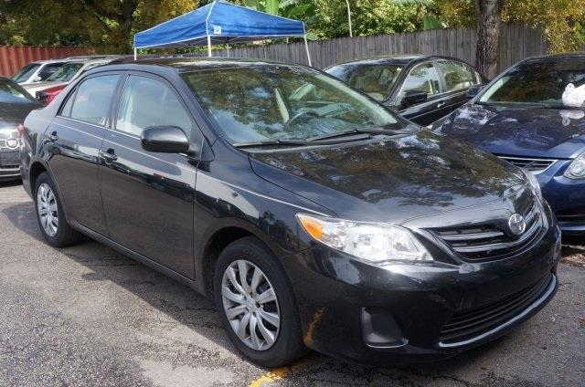 2013 TOYOTA COROLLA LE 4DR SEDAN 4A black sand pearl dont wait another minute hurry and take adv