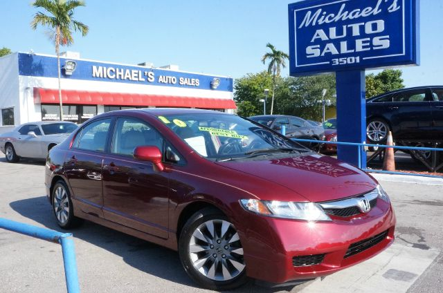 2010 HONDA CIVIC EX-L 4DR SEDAN 5A tango red pearl clean carfax 99 point safety inspectio