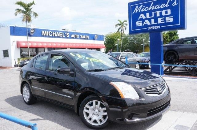 2012 NISSAN SENTRA 20 super black best color the michaels auto sales advantage come take a l