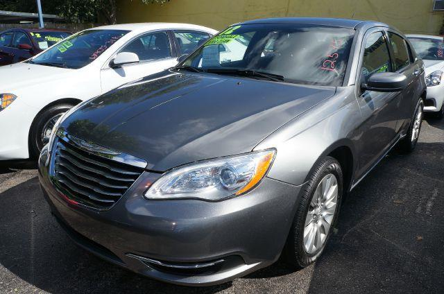 2012 CHRYSLER 200 LX tungsten metallic clearcoat      i knew that would get your attention n