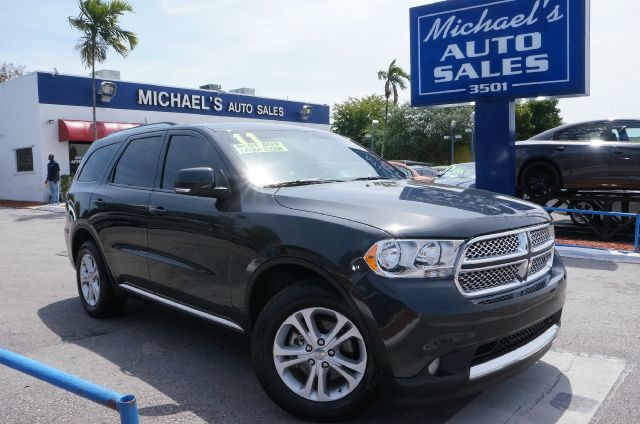 2011 DODGE DURANGO CREW mineral gray metallic clearcoa clean carfax 99 point safety inspe