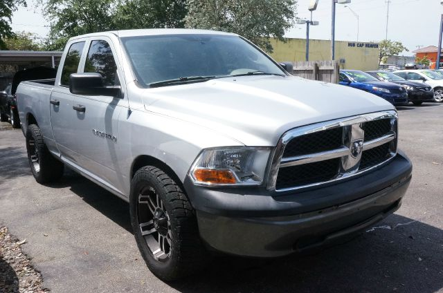 2011 DODGE RAM 1500 SLT bright silver metallic clearco clean carfax 99 point safety inspe