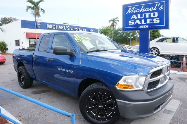 2011 DODGE RAM 1500 SLT deep water blue pearlcoat 99 point safety inspection automatic a