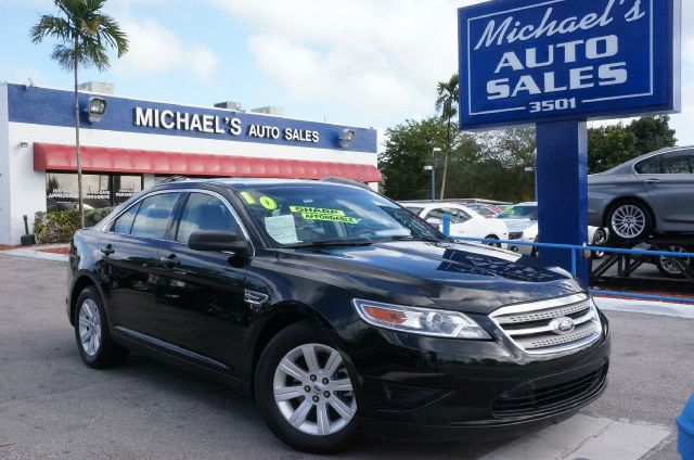 2010 FORD TAURUS SE tuxedo black metallic 99 point safety inspection clean carfax clea