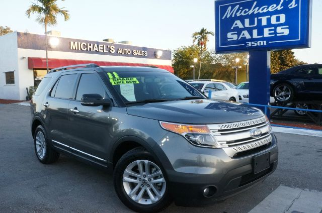 2011 FORD EXPLORER XLT sterling gray metallic 99 point safety inspection automatic and