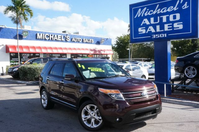 2011 FORD EXPLORER LIMITED bordeaux reserve red metallic move quickly theres no substitute for a