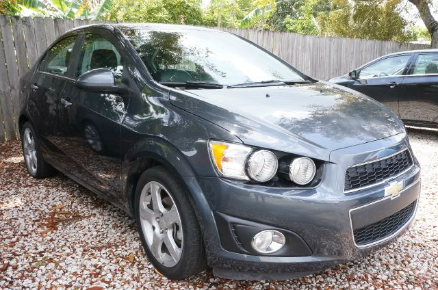 2013 CHEVROLET SONIC LTZ cyber gray metallic clean carfax 99 point safety inspection a