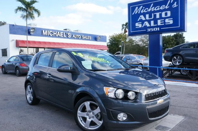 2013 CHEVROLET SONIC LTZ cyber gray metallic 99 point safety inspection automatic and
