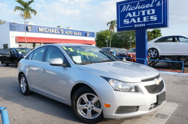 2012 CHEVROLET CRUZE 1LT silver ice metallic 99 point safety inspection automatic clea