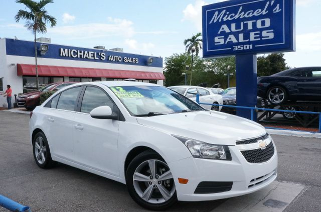 2012 CHEVROLET CRUZE 2LT summit white 99 point safety inspection automatic clean carfa