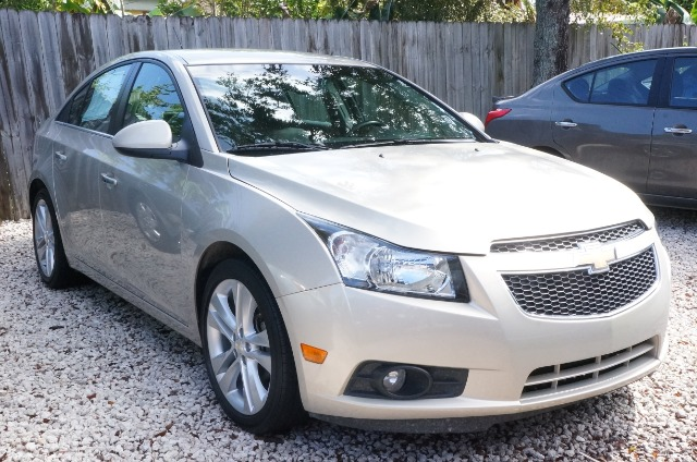 2012 CHEVROLET CRUZE LTZ gold mist metallic 99 point safety inspection automatic and c
