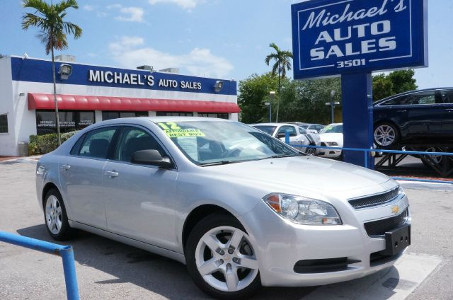 2012 CHEVROLET MALIBU LS silver ice metallic clean carfax 99 point safety inspection