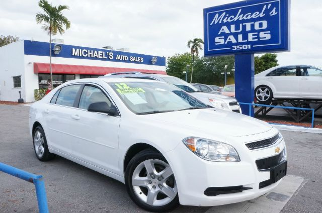 2012 CHEVROLET MALIBU LS summit white 99 point safety inspection automatic and clean c