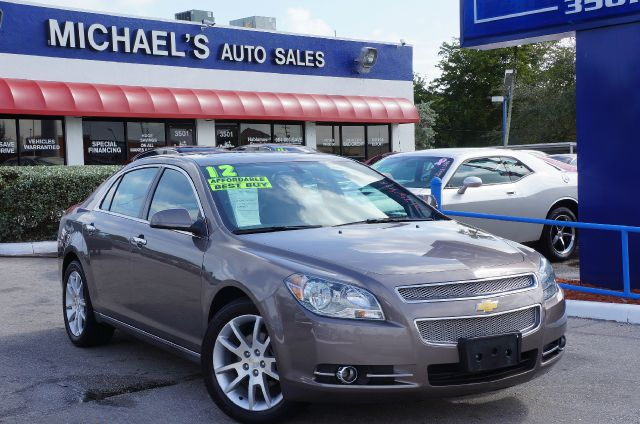 2012 CHEVROLET MALIBU LTZ gold mist metallic 99 point safety inspection clean carfax and