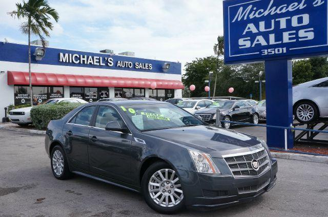 2010 CADILLAC CTS BASE thunder gray chromaflair 99 point safety inspection and clean title