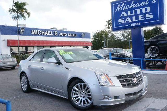 2011 CADILLAC CTS 36L PERFORMANCE radiant silver metallic 99 point safety inspection autom