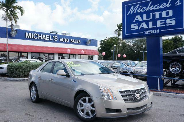 2009 CADILLAC CTS BASE gold mist clean carfax automatic clean title leather