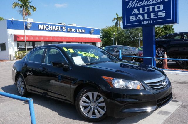2012 HONDA ACCORD EX-L crystal black pearl clean carfax 99 point safety inspection a