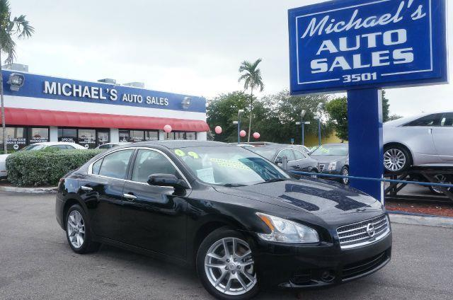 2009 NISSAN MAXIMA 35 S super black 99 point safety inspection clean title and moonro