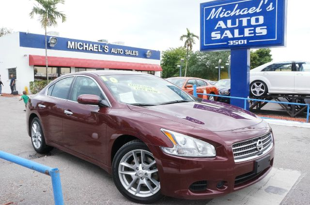 2010 NISSAN MAXIMA 35 S winter frost 99 point safety inspection automatic and clean c