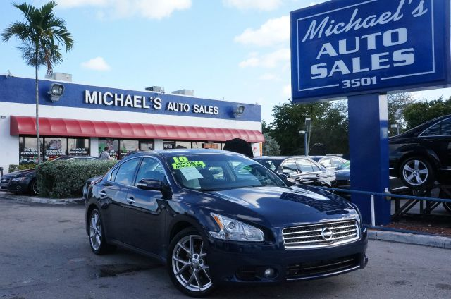 2010 NISSAN MAXIMA 35 SV navy blue 9 speakersamfm radiocd playermp3 decoderradio data system