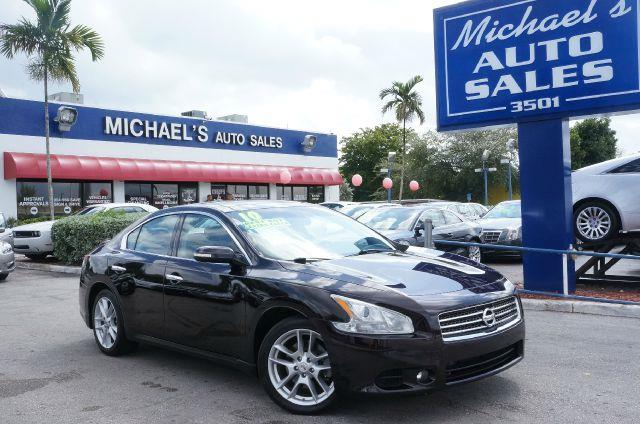 2010 NISSAN MAXIMA SV crimson black metallic call now 1-866-717-9571  free autocheck  carfax rep
