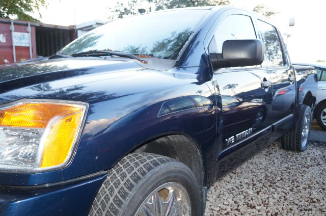 2008 NISSAN TITAN SE majestic blue metallic 99 point safety inspection and clean title cr