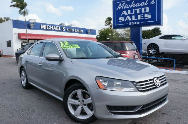 2012 VOLKSWAGEN PASSAT 25 SE platinum gray metallic 99 point safety inspection automatic