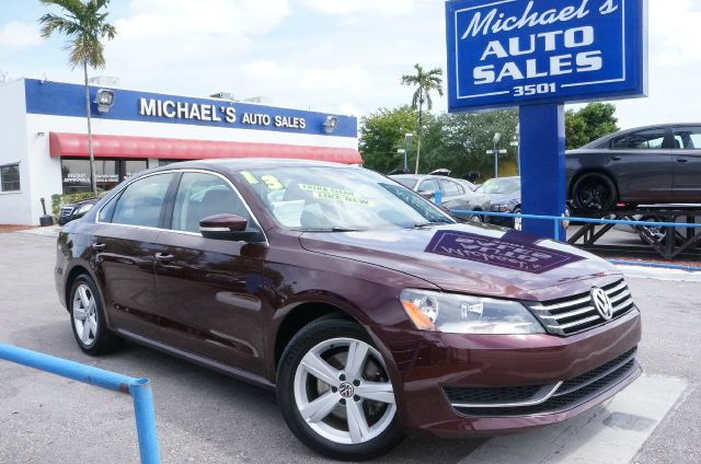 2013 VOLKSWAGEN PASSAT 25 SE opera red metallic clean carfax 99 point safety inspection