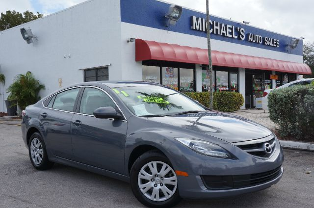 2011 MAZDA MAZDA6 I comet gray mica 99 point safety inspection and clean title move quick