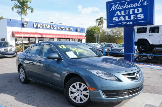 2012 MAZDA MAZDA6 I SPORT 4DR SEDAN 5A steel blue mica 99 point safety inspection automatic