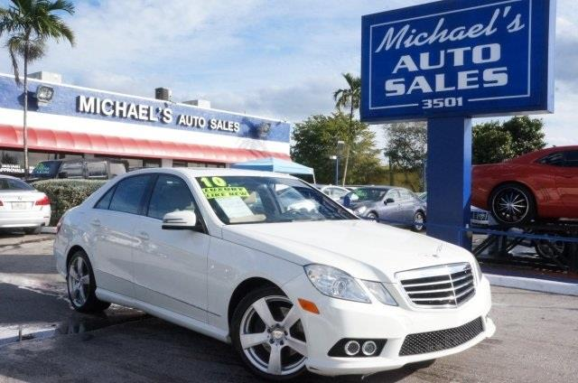 2010 MERCEDES-BENZ E-CLASS E350 unspecified michaels auto sales means business right car right