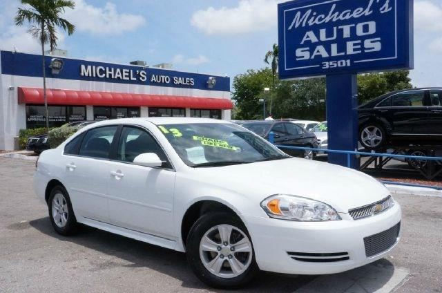 2013 CHEVROLET IMPALA LS FLEET 4DR SEDAN summit white no games just business call and ask for de