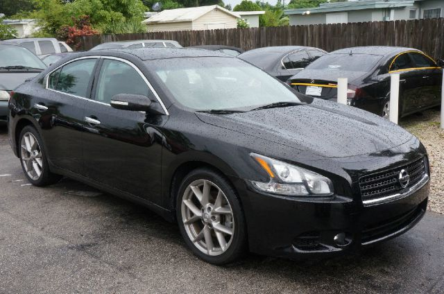 2011 NISSAN MAXIMA 35 S 4DR SEDAN super black clean carfax 99 point safety inspection