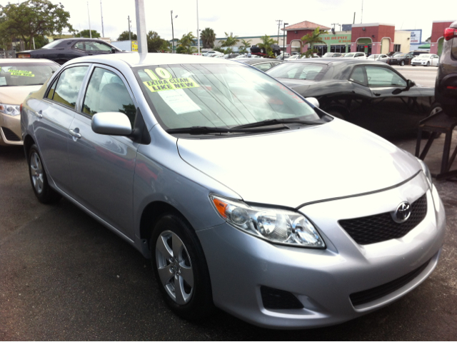 2010 TOYOTA COROLLA LE 4-SPEED AT classic silver metallic abs brakesair conditioningamfm radio