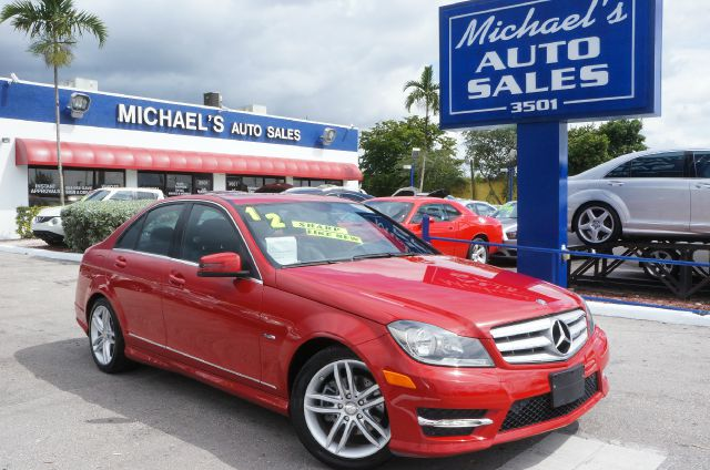 2012 MERCEDES-BENZ C-CLASS C250 mars red 99 point safety inspection clean carfax lea