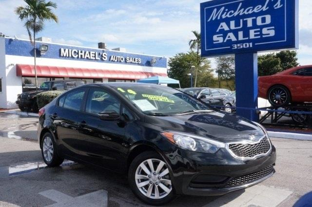 2014 KIA FORTE LX aurora black call and ask for details switch to michaels auto sales this wo