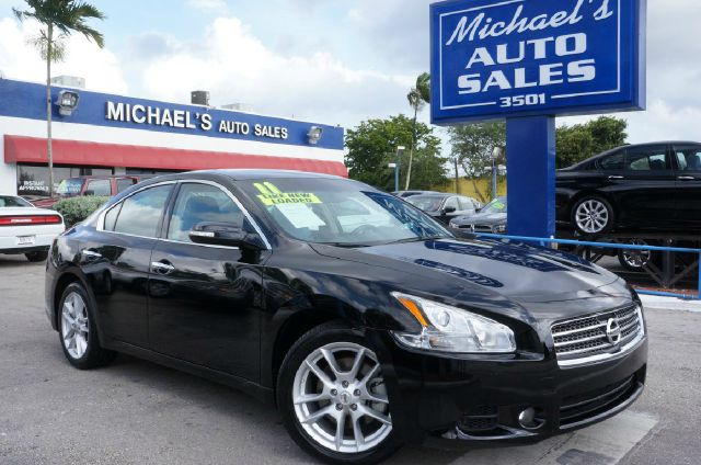 2011 NISSAN MAXIMA 35 S 4DR SEDAN tuscan sun metallic clean carfax 99 point safety inspe