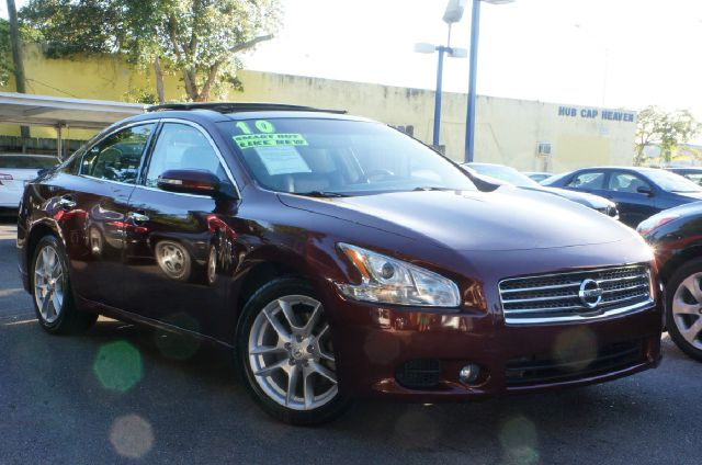 2010 NISSAN MAXIMA 35 S 4DR SEDAN red 99 point safety inspection automatic price redu