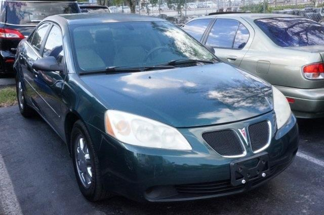 2007 PONTIAC G6 BASE 4DR SEDAN emerald green metallic success starts with michaels auto sales in
