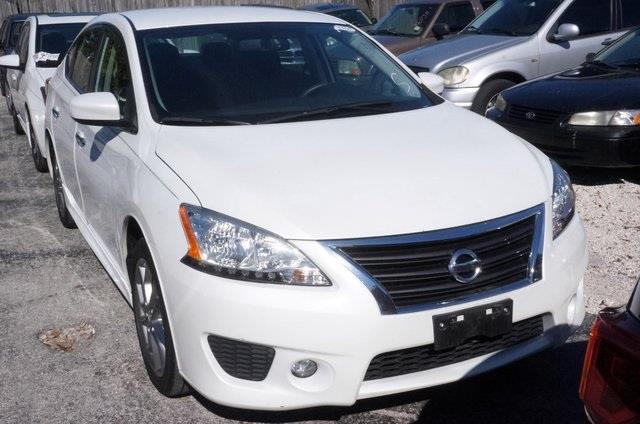 2013 NISSAN SENTRA S 4DR SEDAN CVT aspen white car buying made easy no games just business wh
